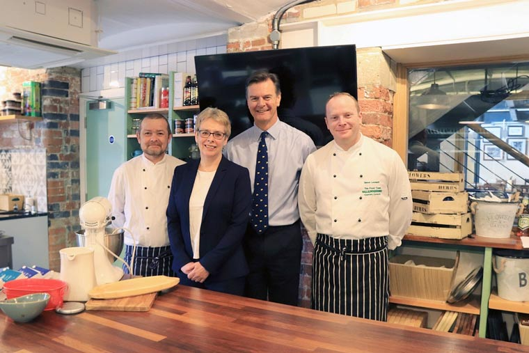 Bournemouth & Poole College partners with Hall & Woodhouse to launch chef apprenticeship