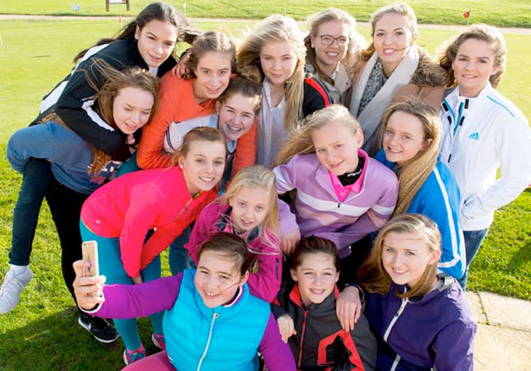 Girls Golf Rocks in Dorset