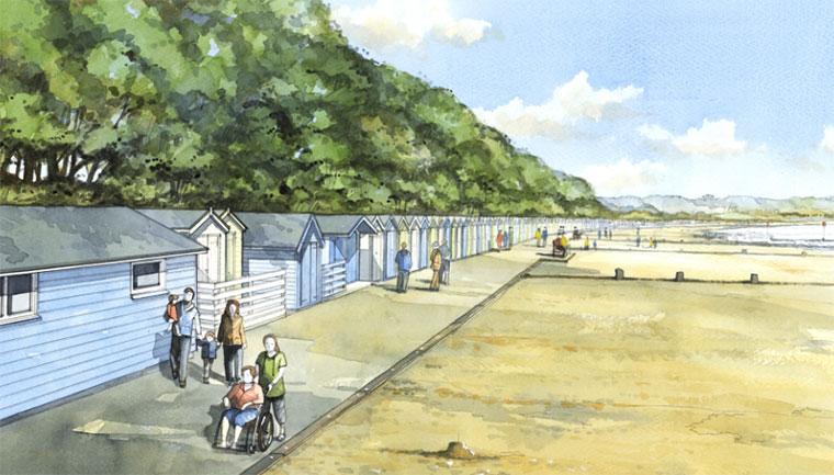 Avon Beach Promenade, Mudeford