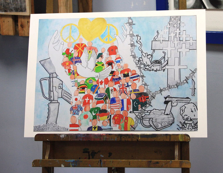 Ringwood School art