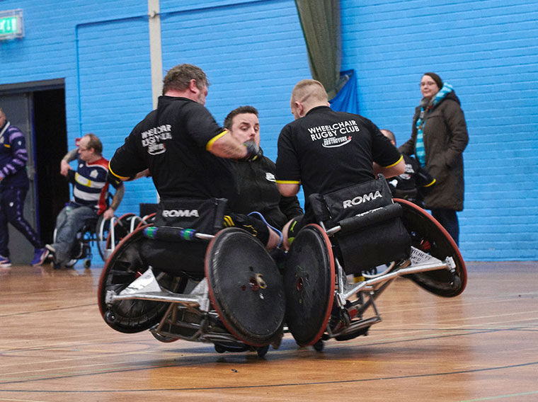 Dorset Destroyers Wheelchair Rugby Club