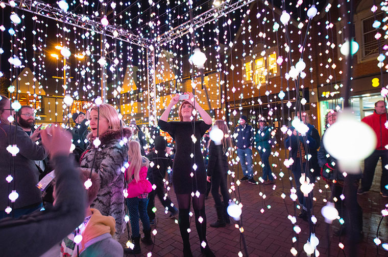 Light Up Poole Submergence
