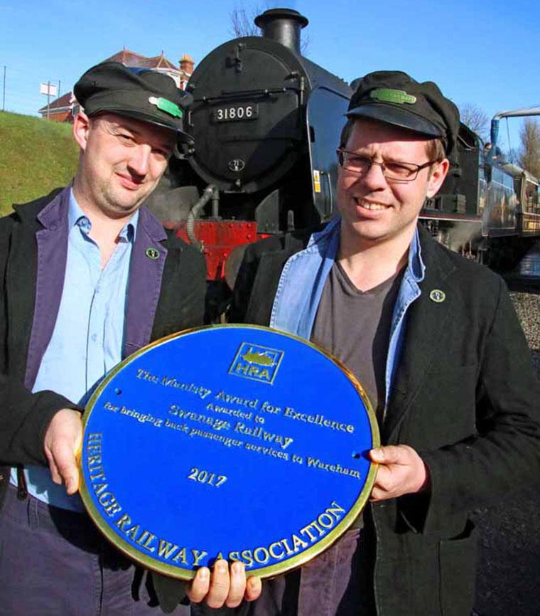Swanage Railway award
