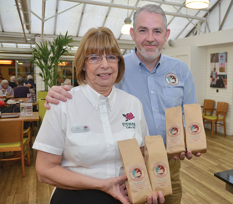 Stewarts Garden Centre Coffee Competition