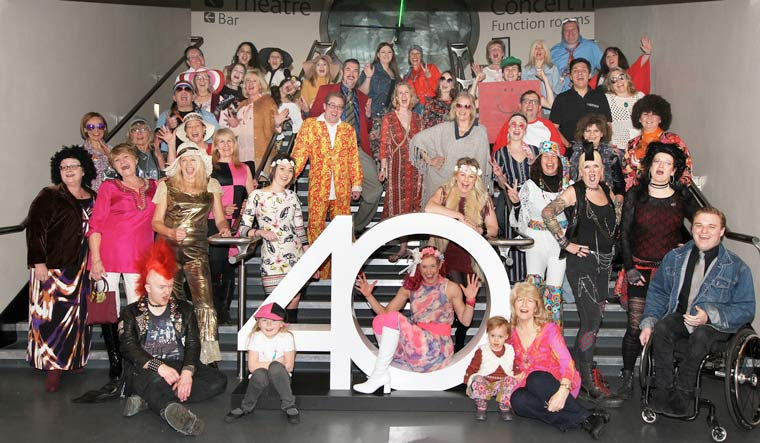 > > LIGHTHOUSE CELEBRATES 40 YEARS IN POOLE