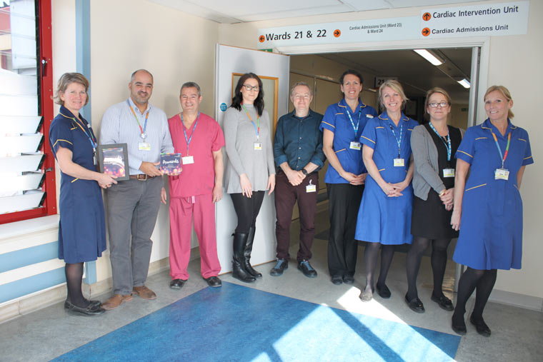 Royal Bournemouth Hospital team wins award for cardiac research