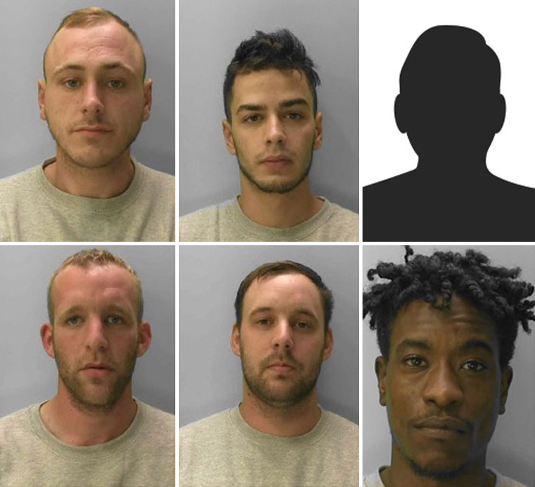 Six defendants jailed following raid on Ferndown home