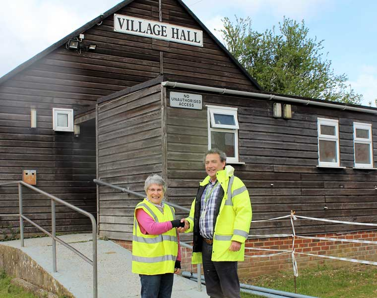 New 'green' village hall secures £10K funding