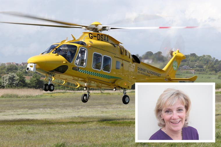 Air Ambulance appoints new Chair of Trustees