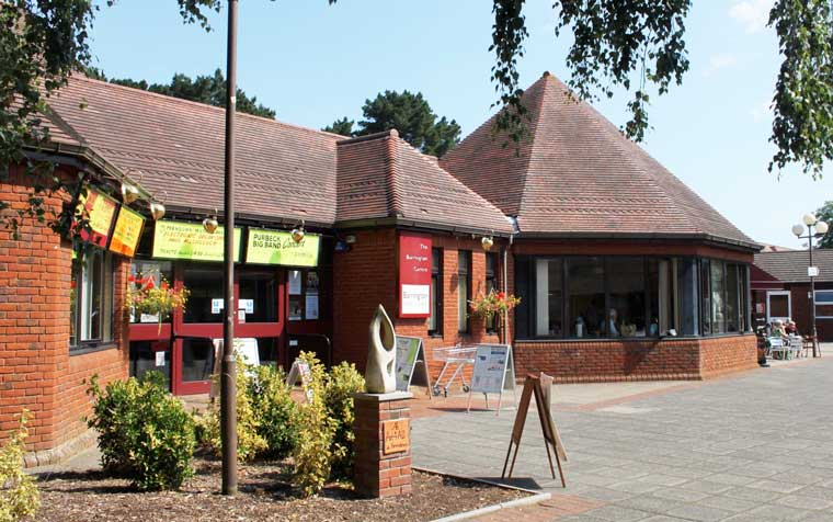Proposed refurbishment and extension of The Barrington Centre