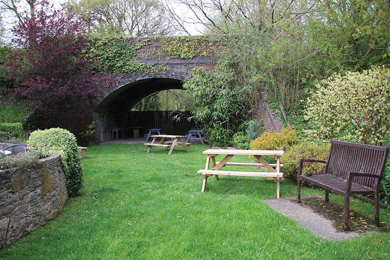 The Albion garden