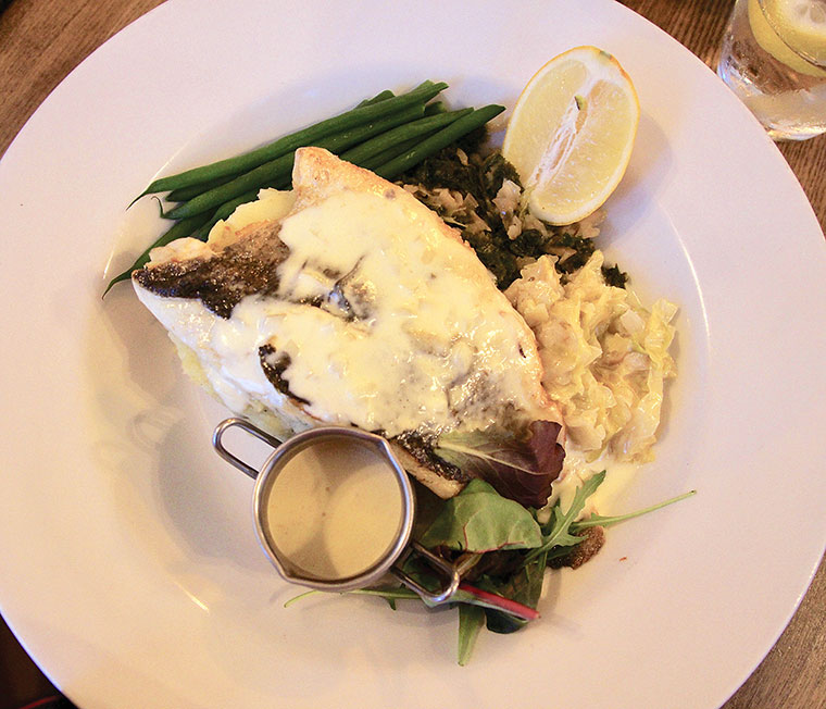 The Albion sea bass