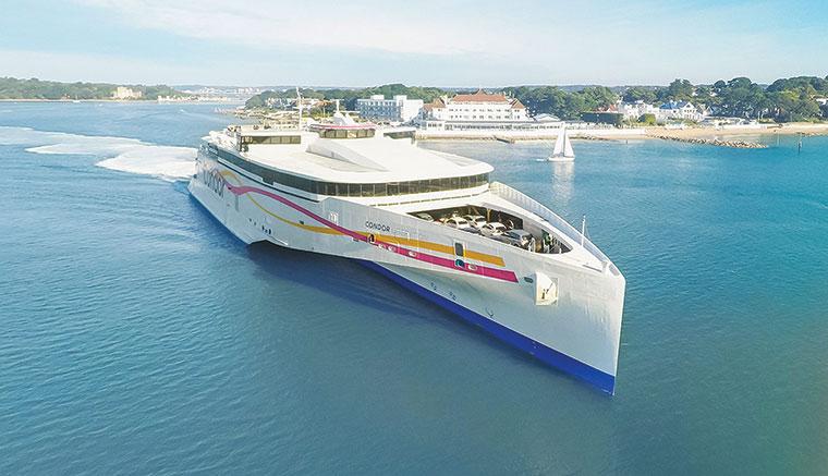 Condor Ferries Liberation ship