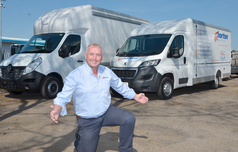 New commercial vehicle production launches in Dorset with Easy Movers