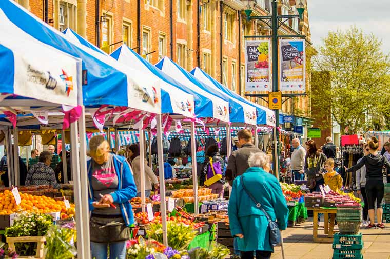 Boscombe Market's 25th Anniversary