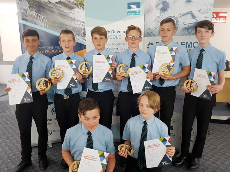 Talented students get on board with Poole Maritime Festival