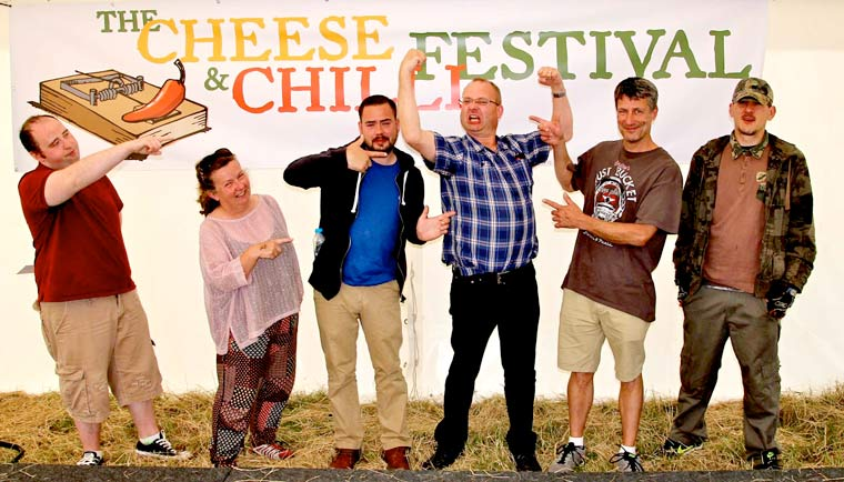 Christchurch Cheese and Chilli Festival 2018