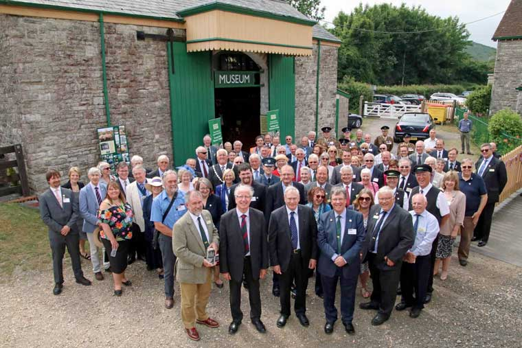 ROYAL RECOGNITION FOR VOLUNTEER ENDEAVOUR TO RETURN TRAINS TO WAREHAM