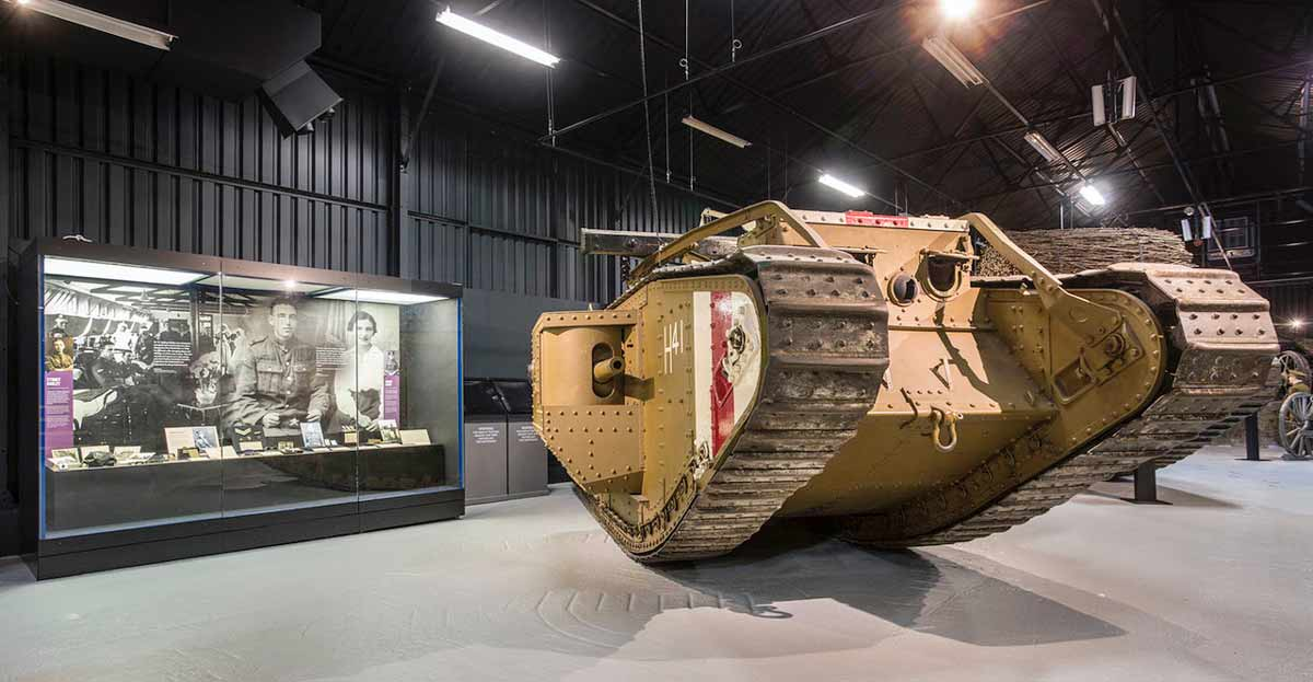 Dorset Tank Museum appeals for missing commander and MC