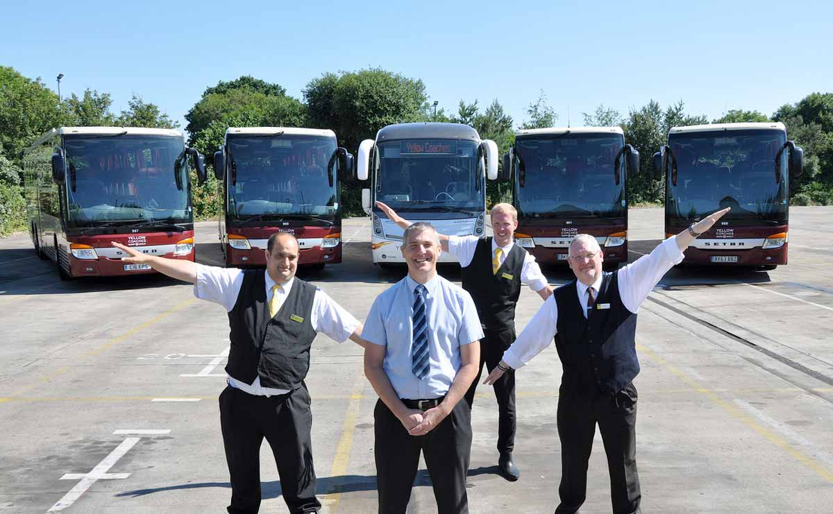 Yellow Buses launches private hire business