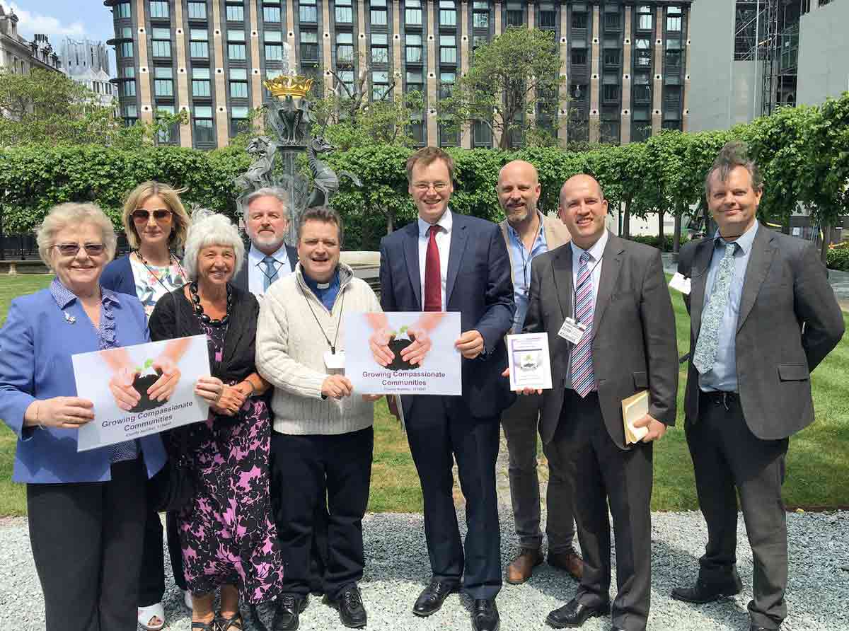 Dorset charity, Growing Compassionate Communities, launched nationally in Parliament