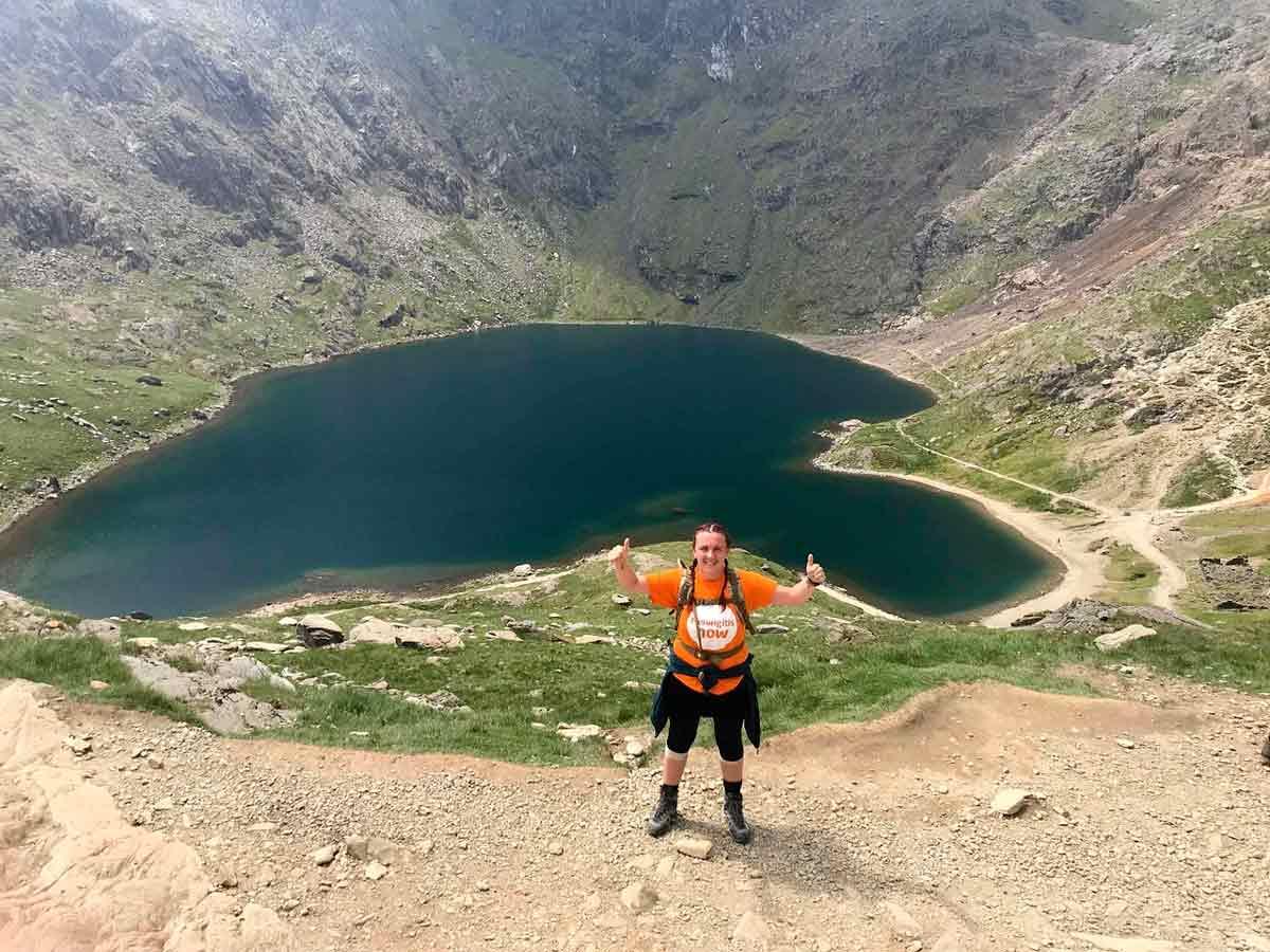 Take on Three Peaks and help fight Meningitis