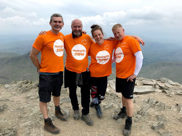 Take on Three Peaks and help fight Meningitis