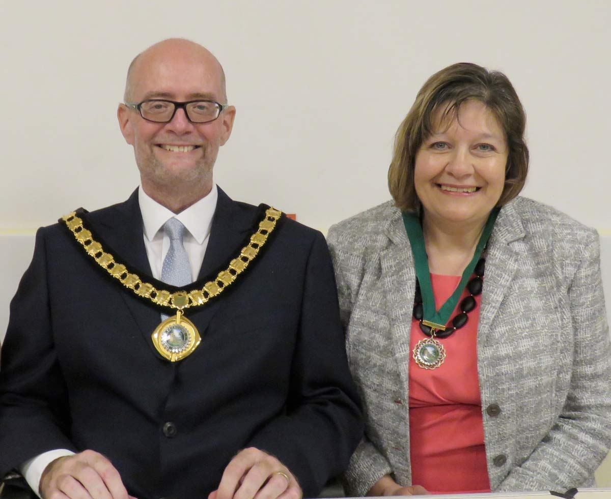 Ferndown mourns death of its mayor, Councillor Steve Lugg