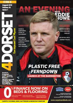 4Dorset magazine August 2018 front cover