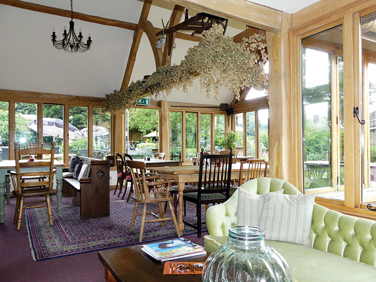 The Compasses Inn Conservatory