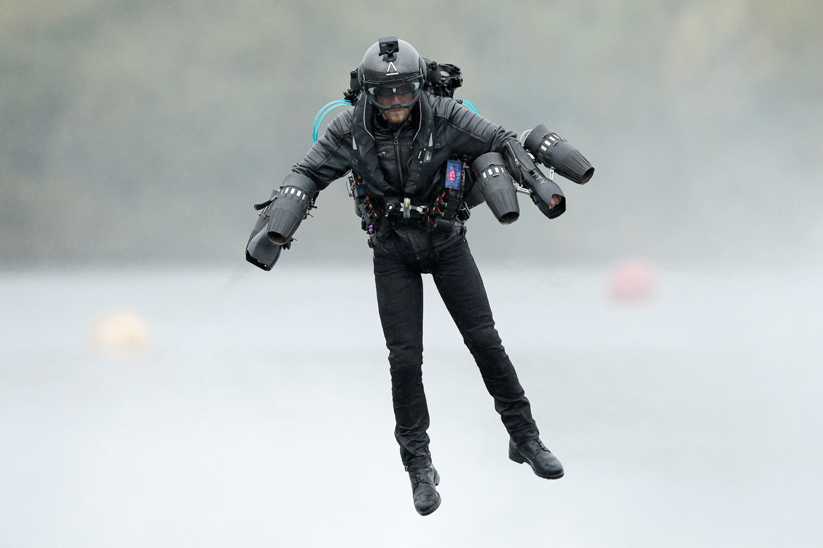 Jet suit pilots set to showcase the next frontier in human flight at Bournemouth Air Festival