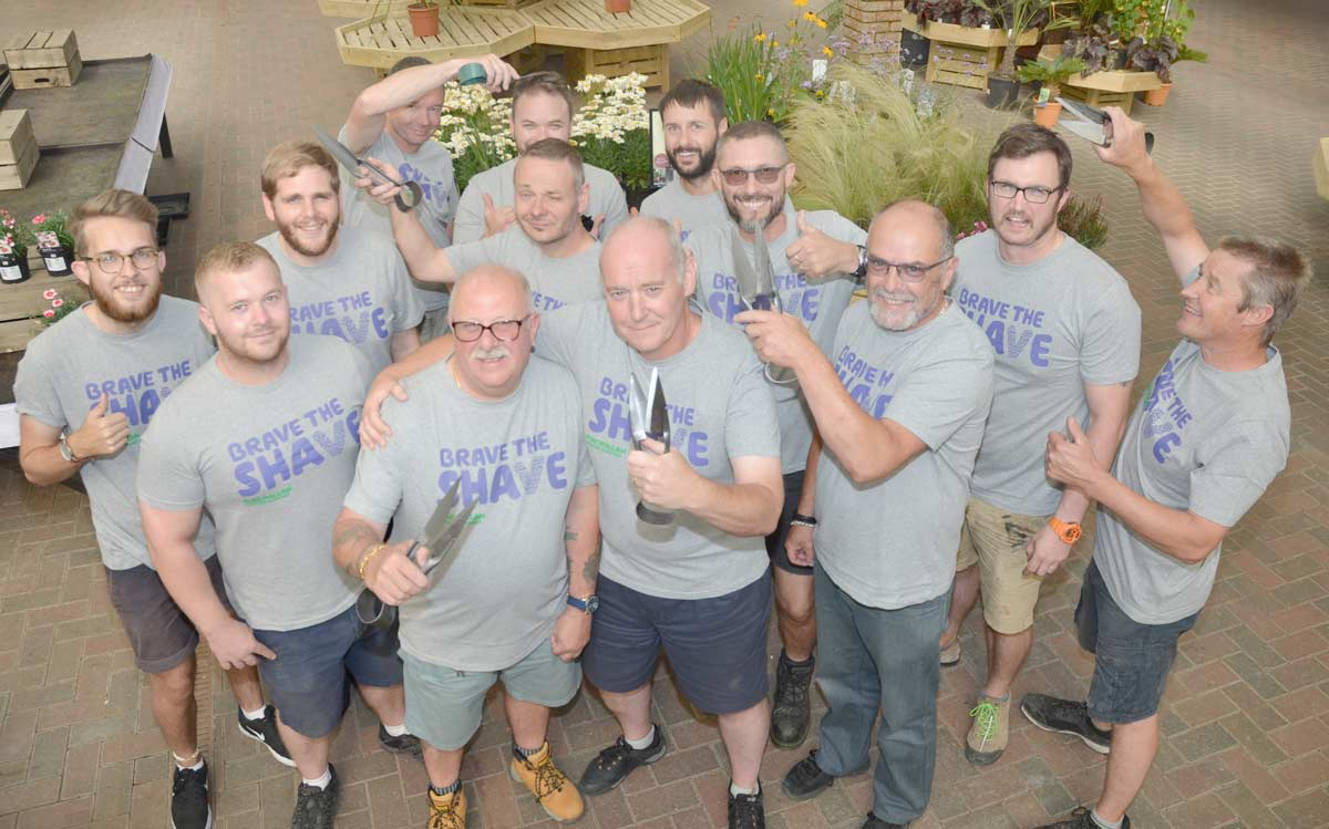 No hedge clippers allowed as 'Brave the Shave' team backs all-clear boss