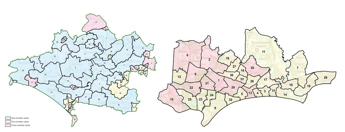 New Council Ward Boundaries