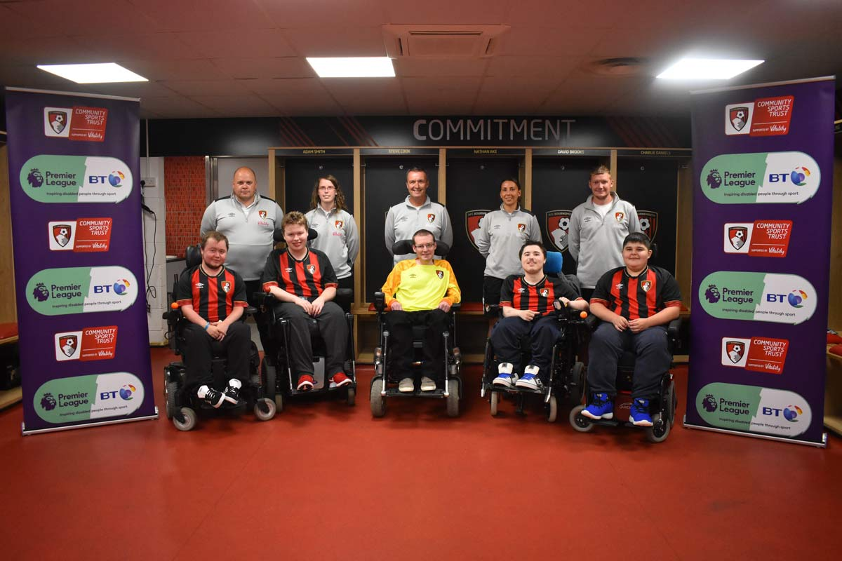 Introducing new powerchair team, AFC Bournemouth Warriors