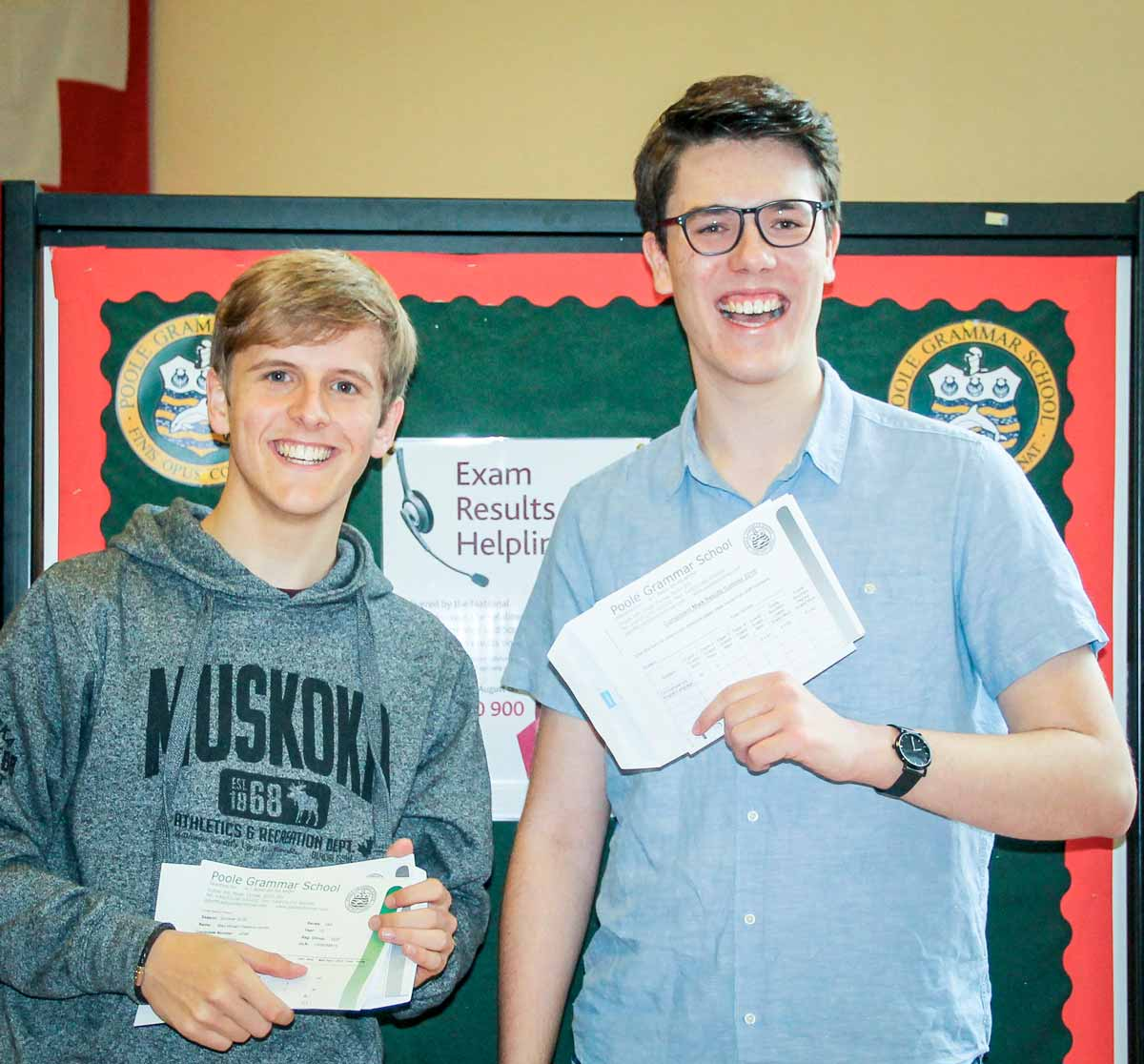 Poole Grammar School A Level results