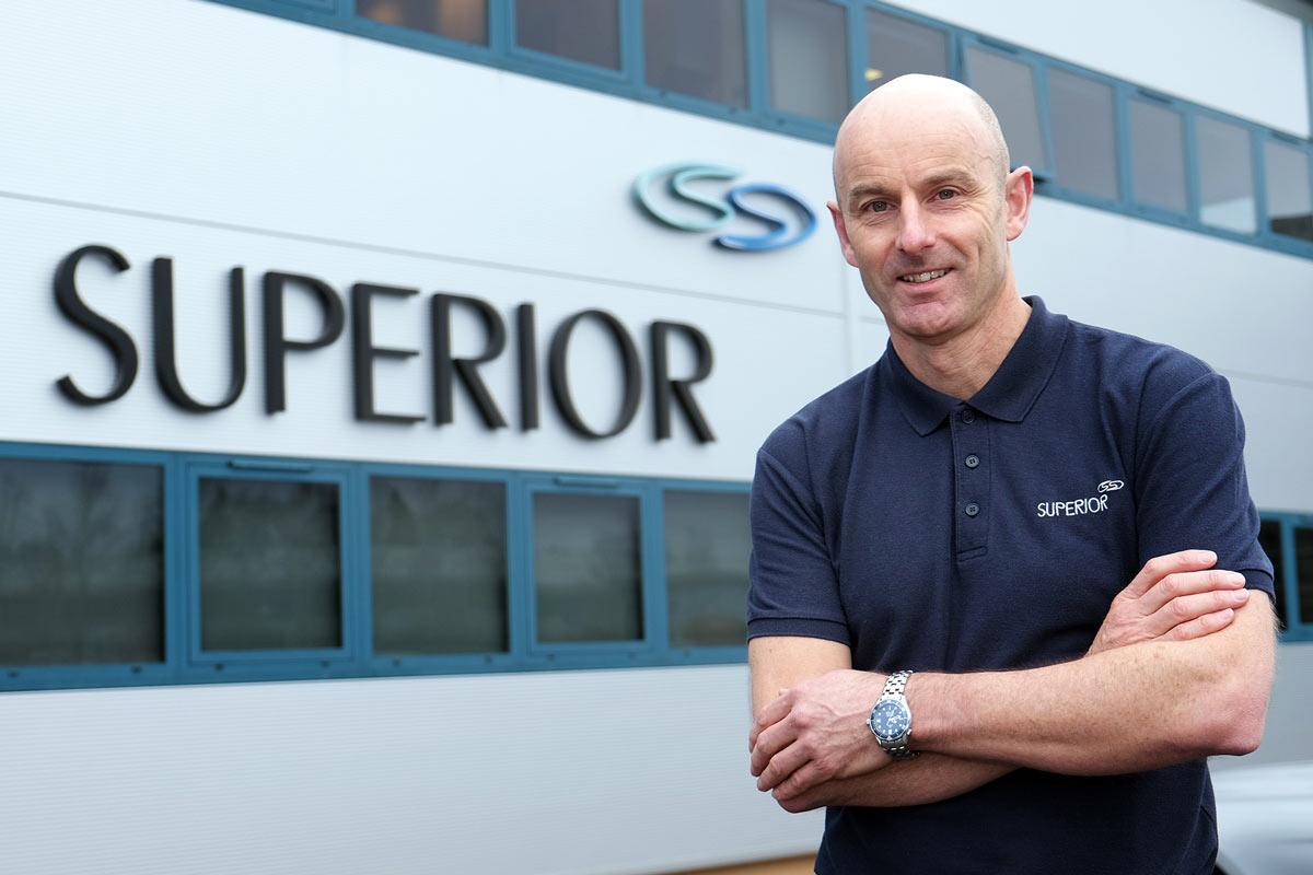 Tim Brown, managing director at Superior