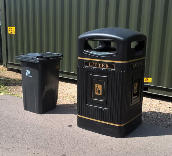 Bins are due to be replaced in Christchurch High Street and Bargates