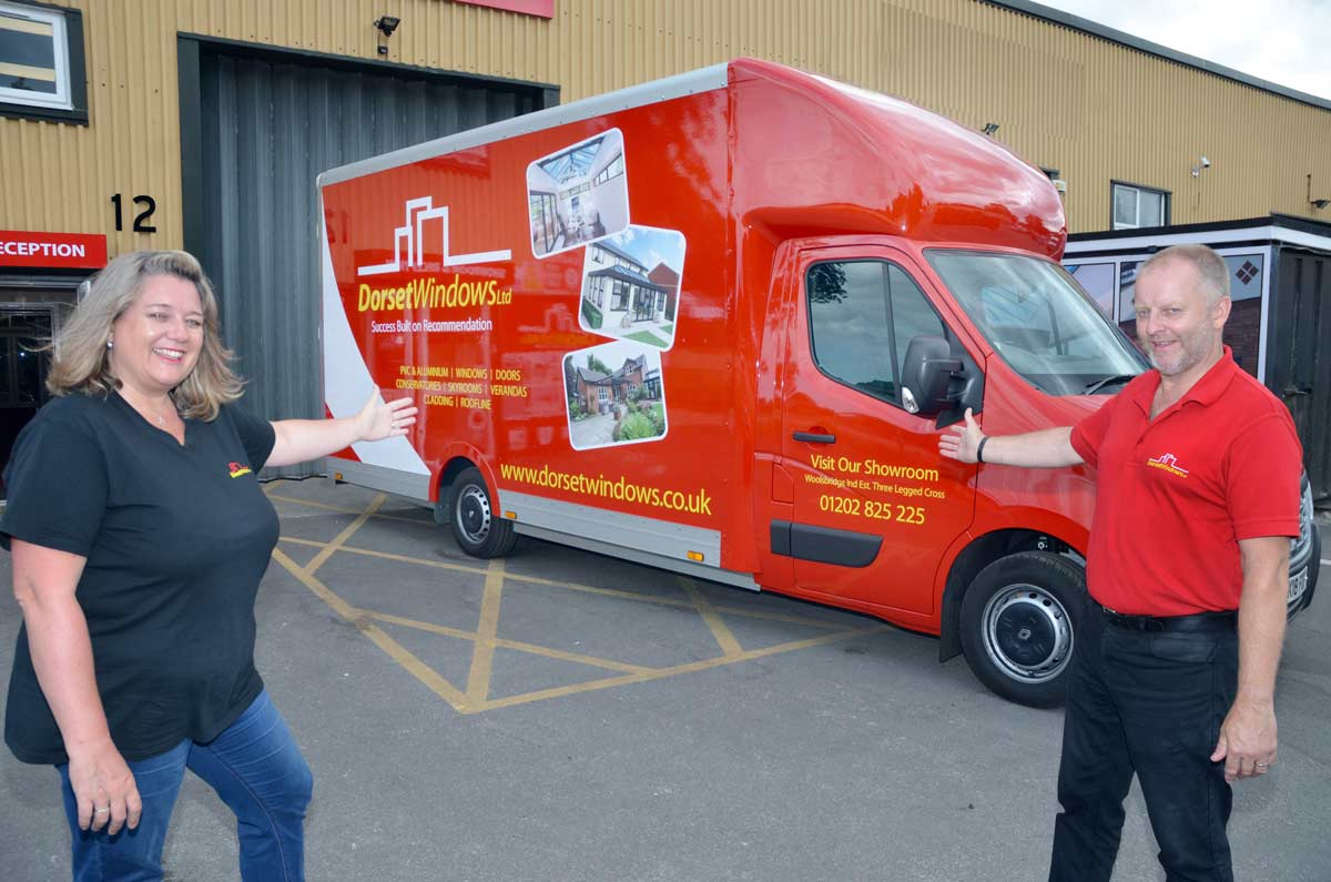 Dorset Windows Ltd has had a bespoke design for its conservatory and bi-folding door installation service.