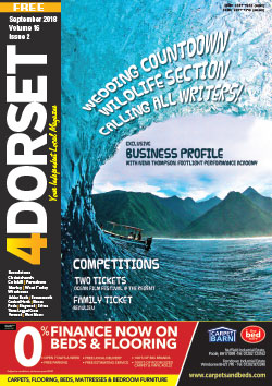 4Dorset August 2018 front cover