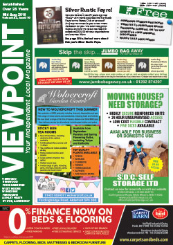 Viewpoint August 2018 front cover