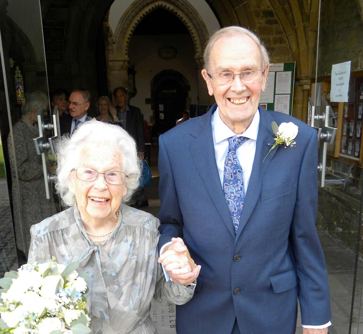 Could they be the oldest newlyweds in Dorset?