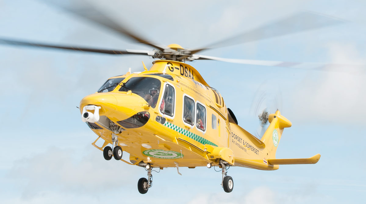 Support Dorset and Somerset Air Ambulance