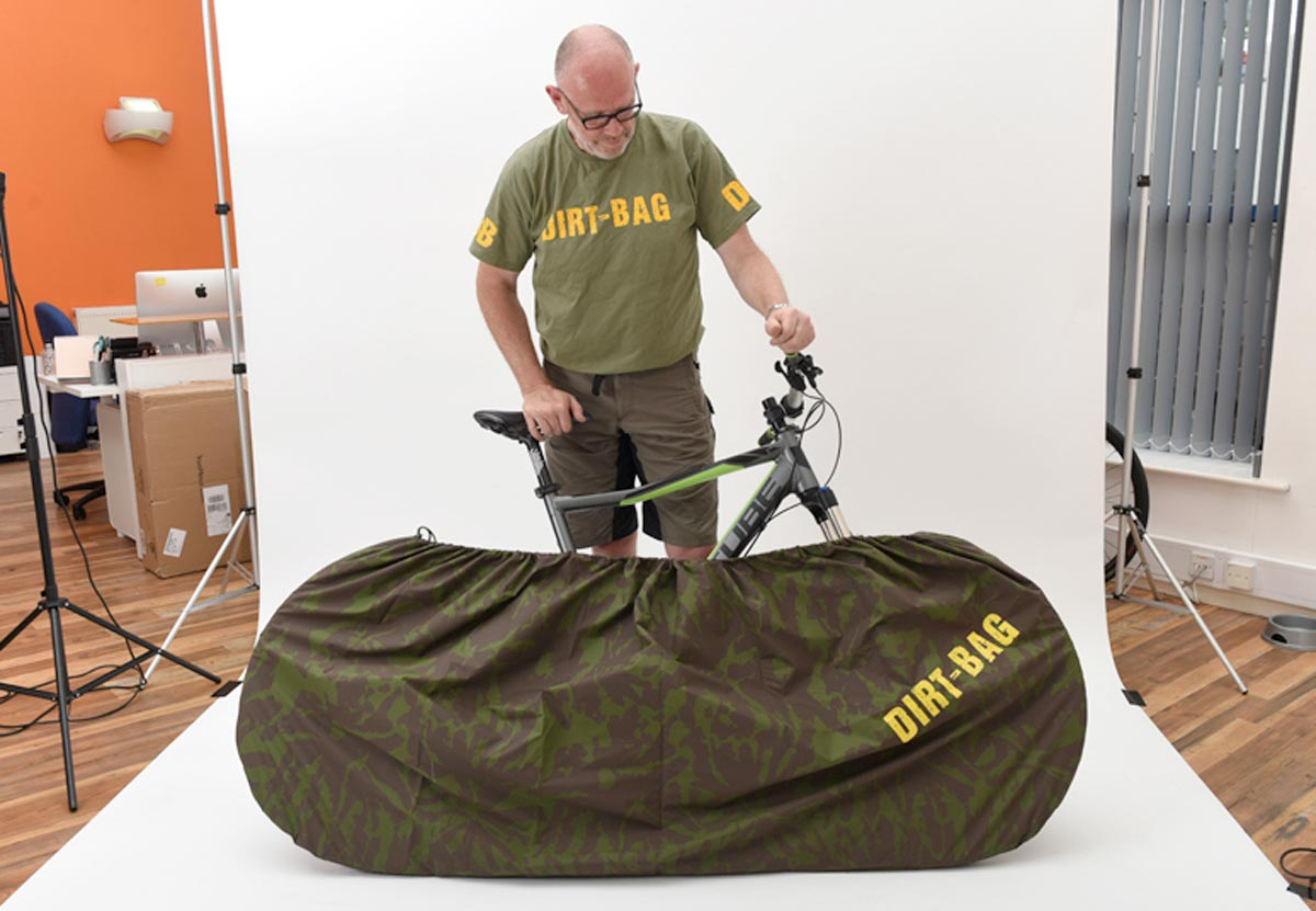 Dirt-Bag cleans up mountain bikes