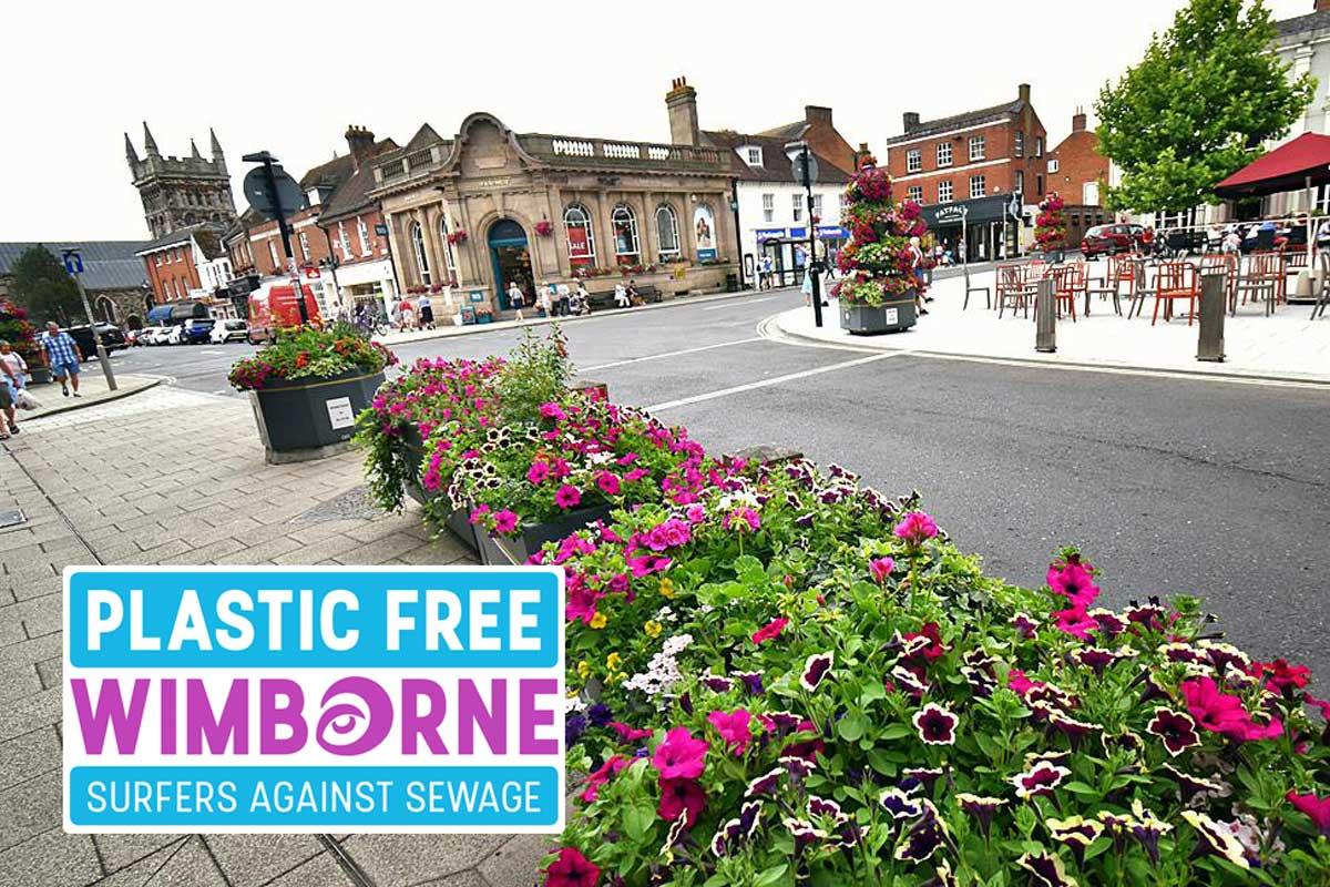 Wimborne achieves plastic free status