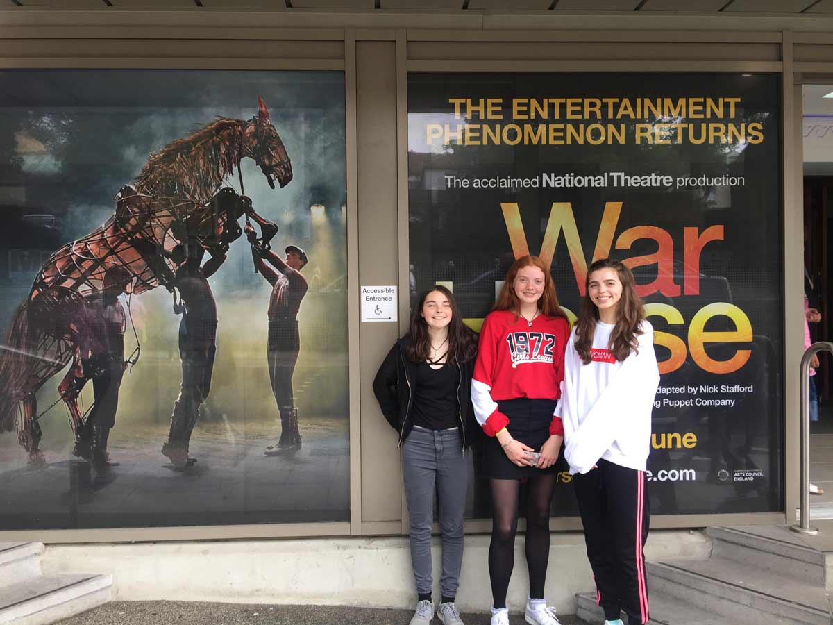 Dorset young carers treated to theatre trip