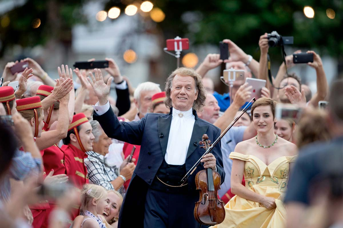 ranked No 1 cinema for the biggest attendance in UK & Ireland for Andre Rieu concert screenings