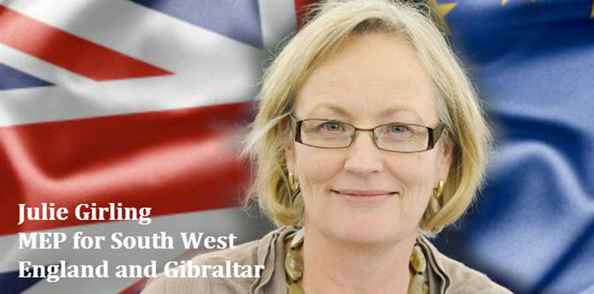 Julie Girling MEP comments on her expulsion from the Conservative Party