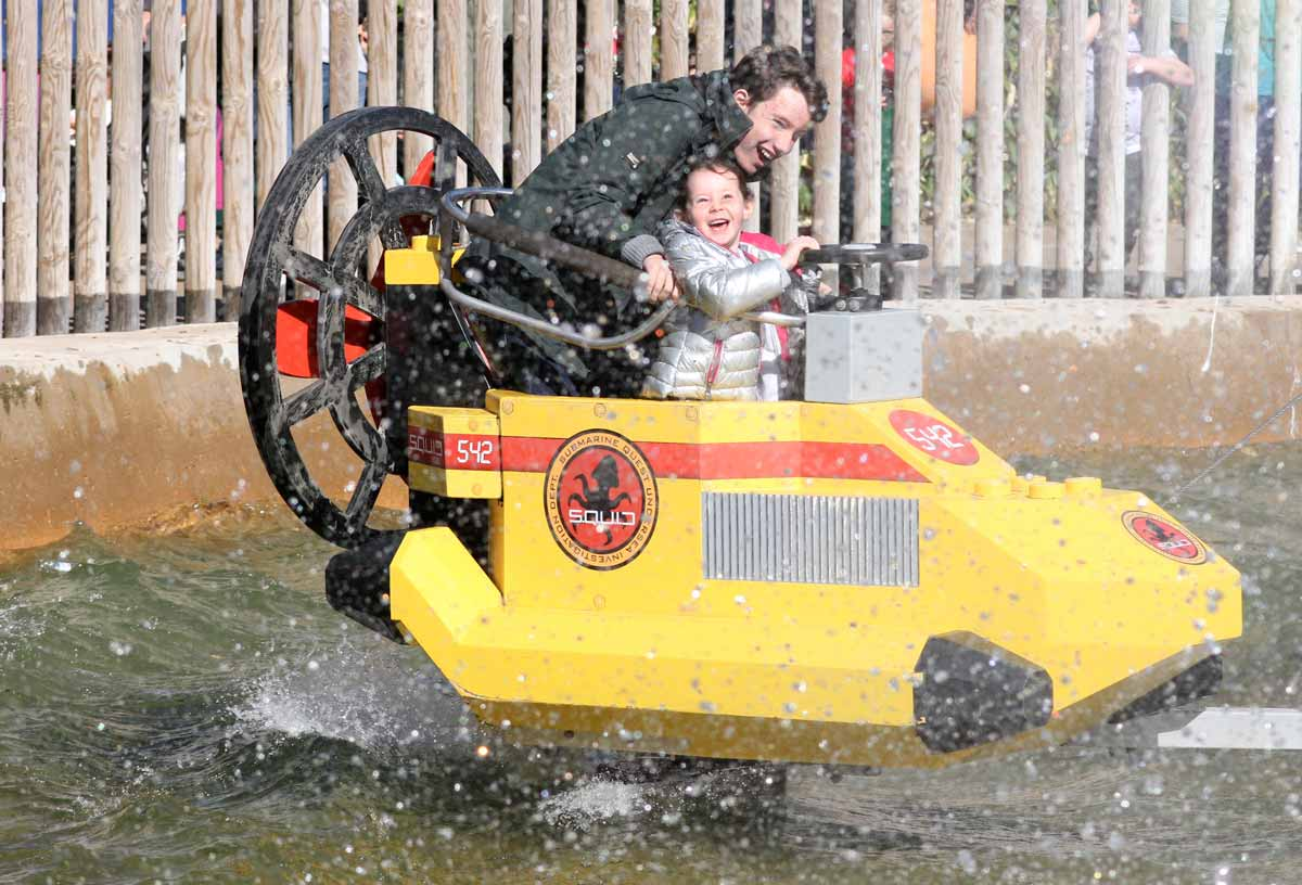 Legoland trip filled with Variety for 47 young carers