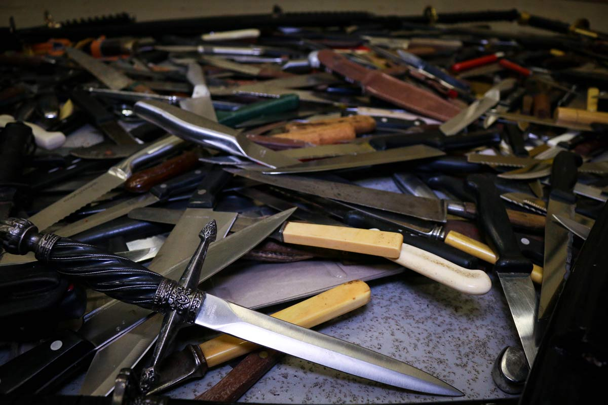 Over 400 items handed in during Dorset knife amnesty