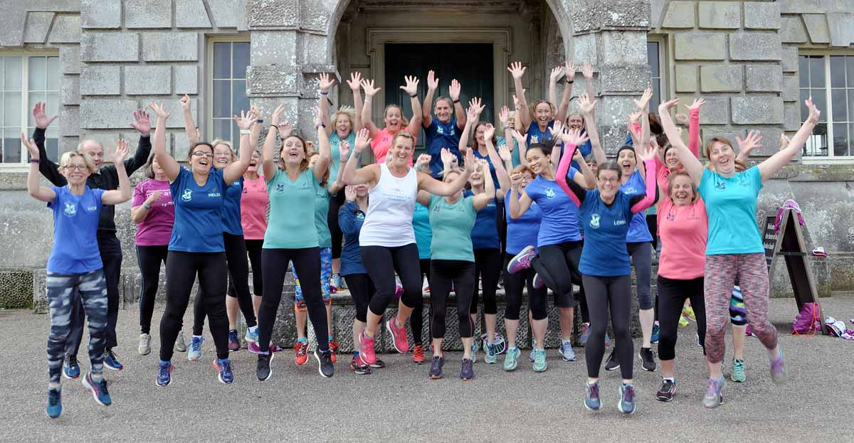 The Kingston Lacy Lady Runners give cancer a run for its money